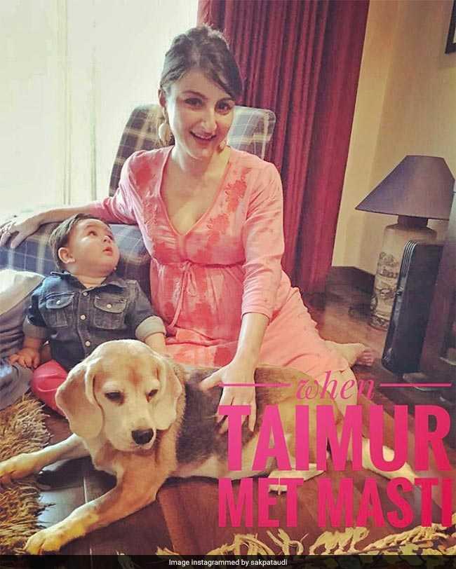 सोहा के Baby Shower स्पेशल गेस्ट हैं करीना के बेटे तैमूर अली खान