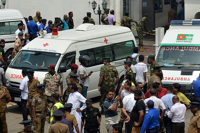Over 100 Killed, Hundreds Injured In Multiple Blasts In Colombo Churches, Hotels