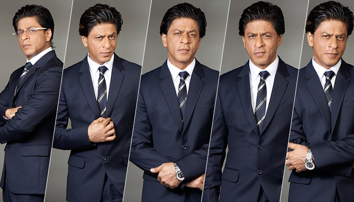 Behind-the-scenes: Shah Rukh works hard, plays hard for NDTV Prime