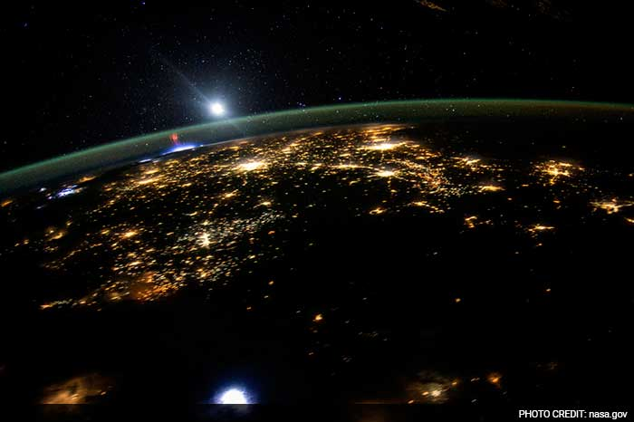 5 Pics: Stunning Images Of Earth From International Space Station