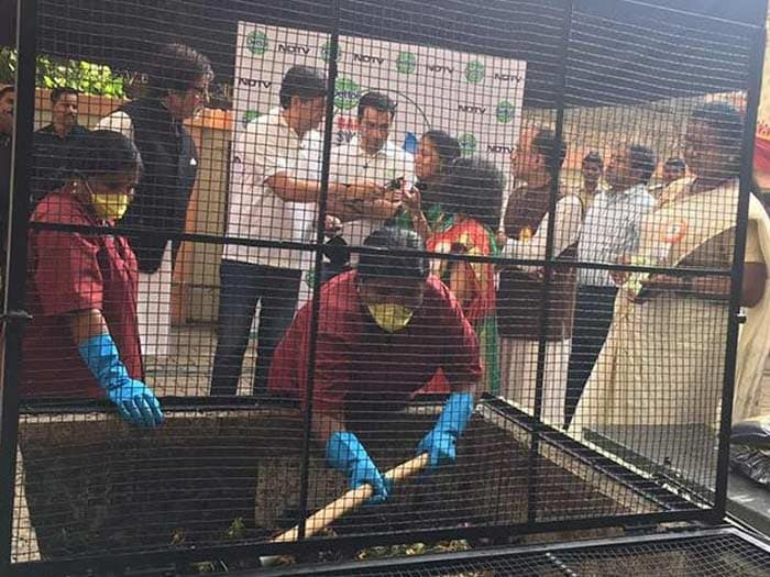 Amitabh Bachchan Endorses The \'Clean, Segregate, Compost\' Mantra