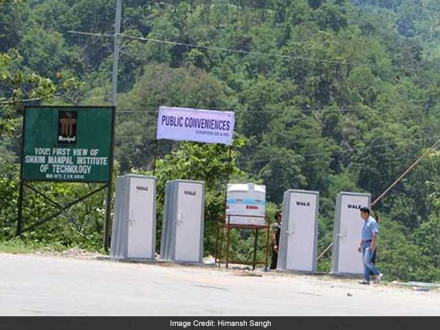 Photo : In Pics: How Sikkim Became India's First ODF State Before Swachh Bharat Was Launched