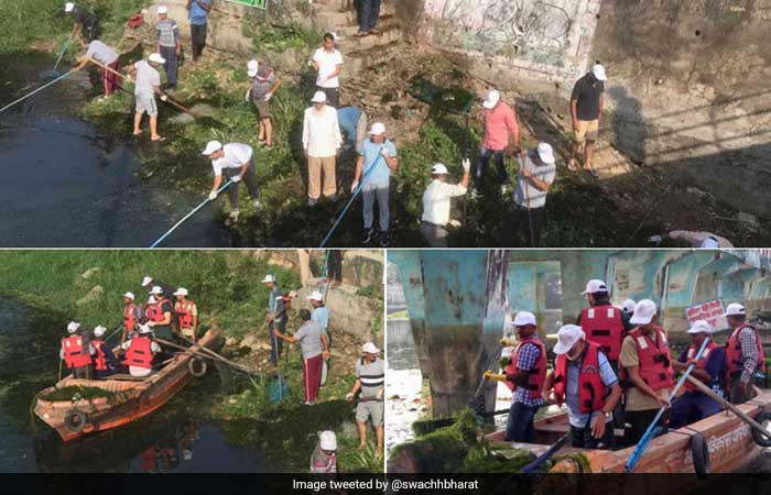 India In Action: \'Swachhata Hi Seva\' Campaign Gathers Momentum Across India