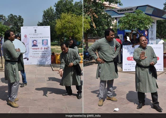 In Pics: How Leaders And People Across India Participated In #SwachhtaHiSeva Campaign
