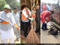 Photo : In Pics: How Leaders And People Across India Participated In #SwachhtaHiSeva Campaign