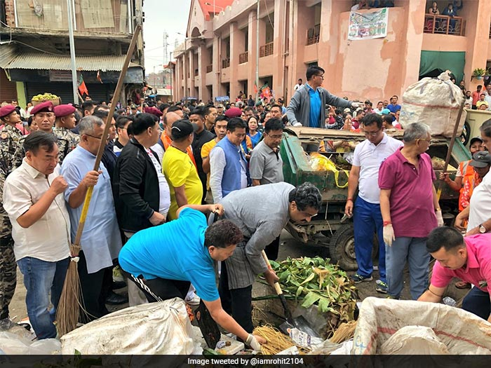 Prime Minister Modi Launches \'Swachhata Hi Seva\' Campaign, A Nationwide Cleanliness Drive
