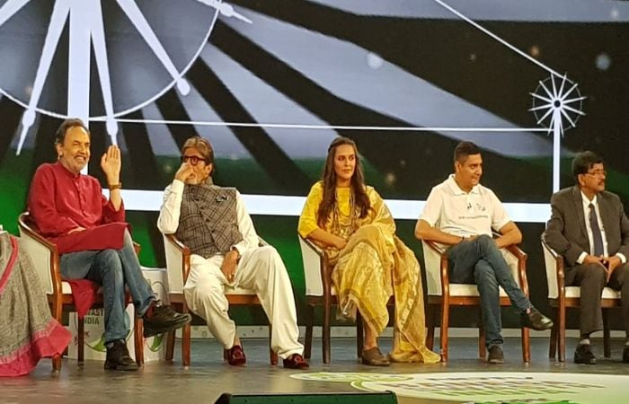 Political Leaders And Celebrities Lend Their Support To The Swasthagraha