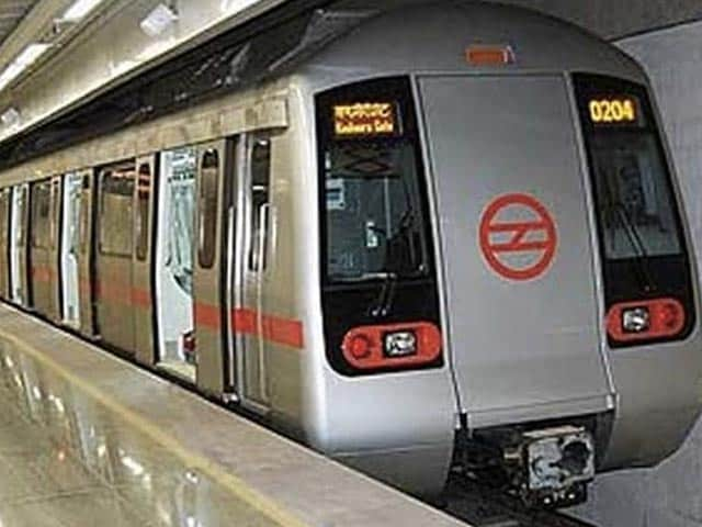 Photo : Delhi Metro Gearing Up To Keep Passengers Safe Once Travel Resumes Post COVID-19 Lockdown