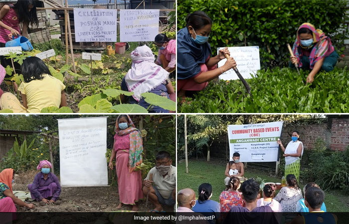 POSHAN Maah 2020: Various Districts Plant Kitchen Gardens To Tackle Malnutrition
