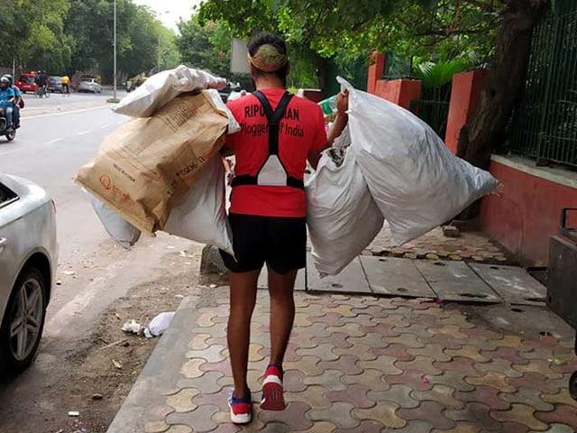 Meet Ripu Daman Bevli Who Made Plogging Popular In India