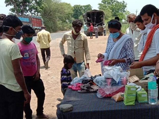 Photo : Madhya Pradesh's Sukarma Foundation Has Helped Feed Over 20,000 People Amid Lockdown