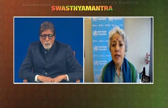 #SwasthyaMantra टेलीथॉन: अमिताभ समेत कई दिग्गज जुड़े, जानें किसने क्या-क्या कहा....