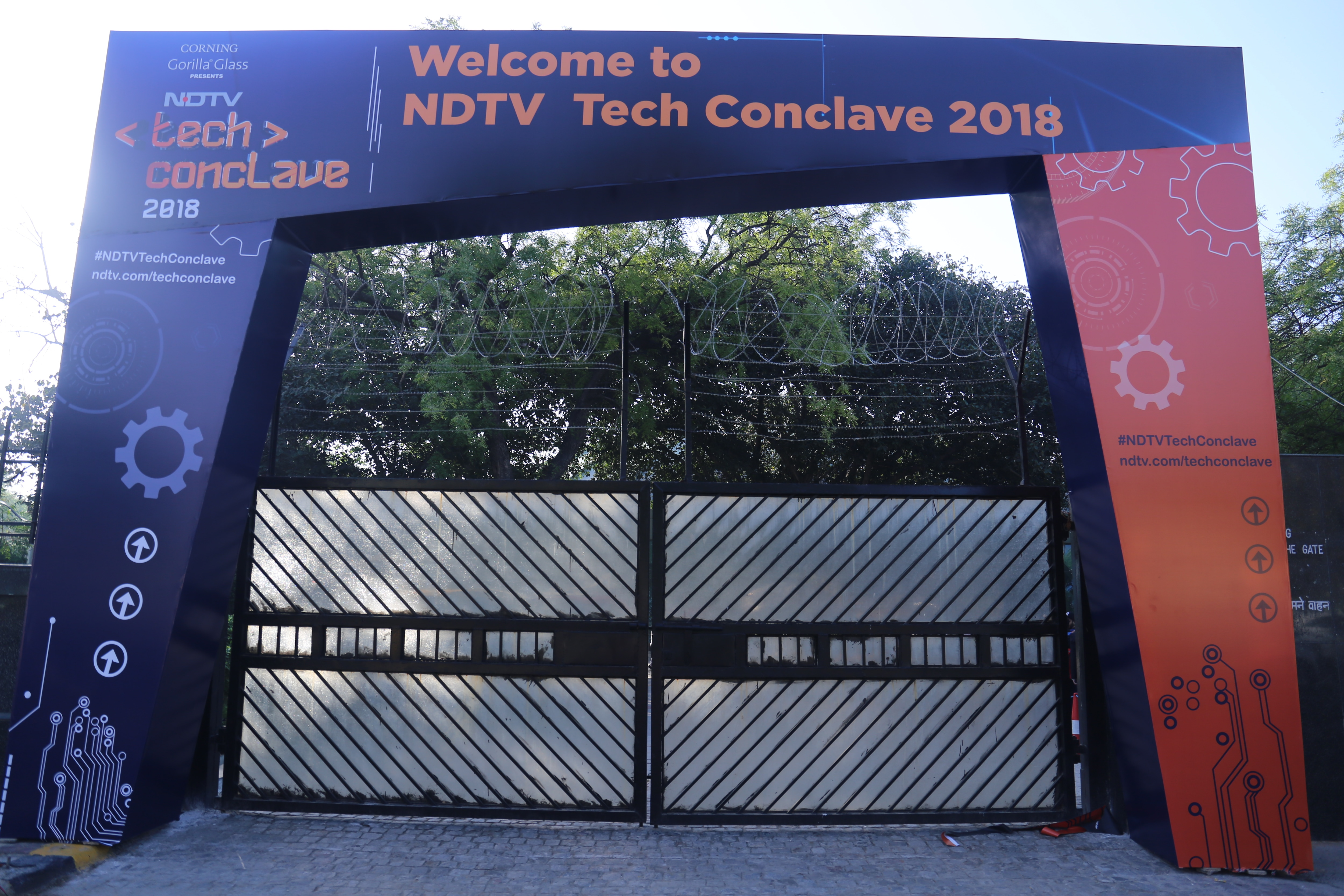 Stage Is Set For NDTV Tech Conclave 2018