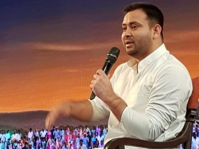 'NDTV युवा': तेजस्वी बोले, मेरे घर में मेरे पिता से बड़ा कोई नेता नहीं