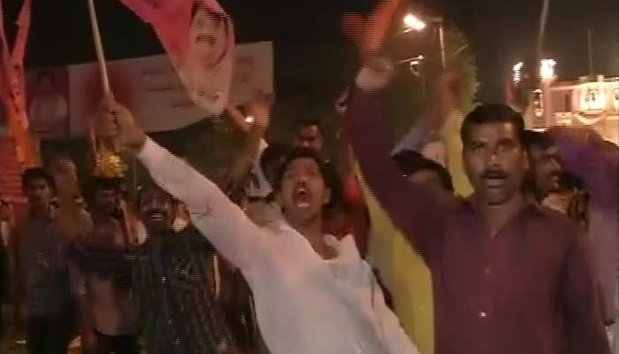 In Pink Hyderabad, a Midnight Party for Telangana