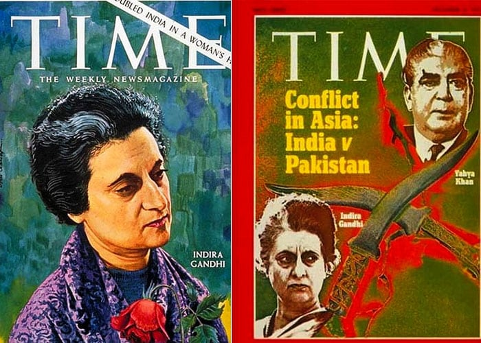 Indians on the cover of Time magazine