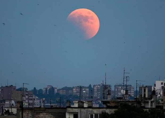 Longest lunar eclipse of the century