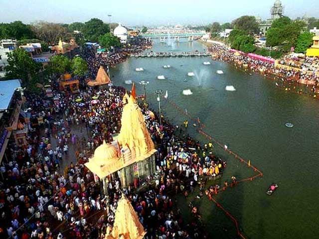 Photo : सिंहस्थ कुंभ: दूसरा शाही स्नान जारी, श्रद्धालुओं का सैलाब उमड़ा