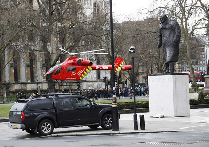 Terror in Westminster: Car-And-Knife Attack In Heart Of London