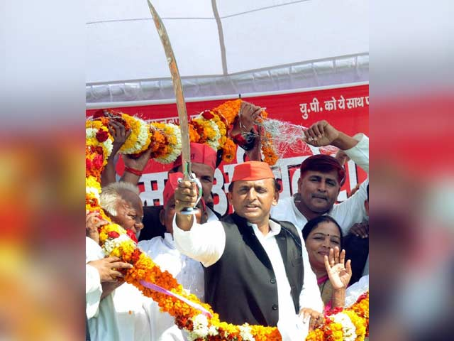 Photo : UP Elections 2017: Ahead Of Penultimate Phase, Campaigning Intensifies