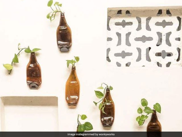 Photo : Best From Waste: Woman's Passion For Glass Leads To A Upcycling Store In Vadodra