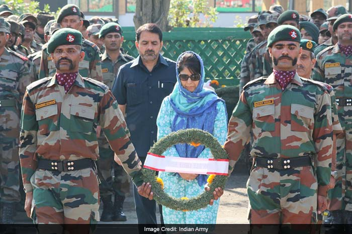 India Pays Homage To Soldiers Killed In Uri Attack, Photo ...