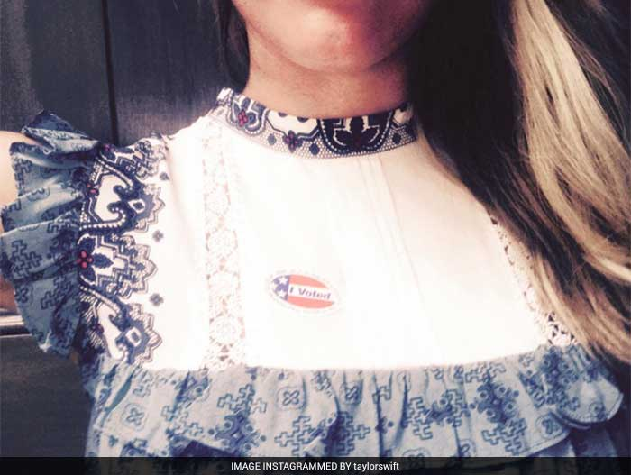 US Election Day: Celebrities Cast Their Votes