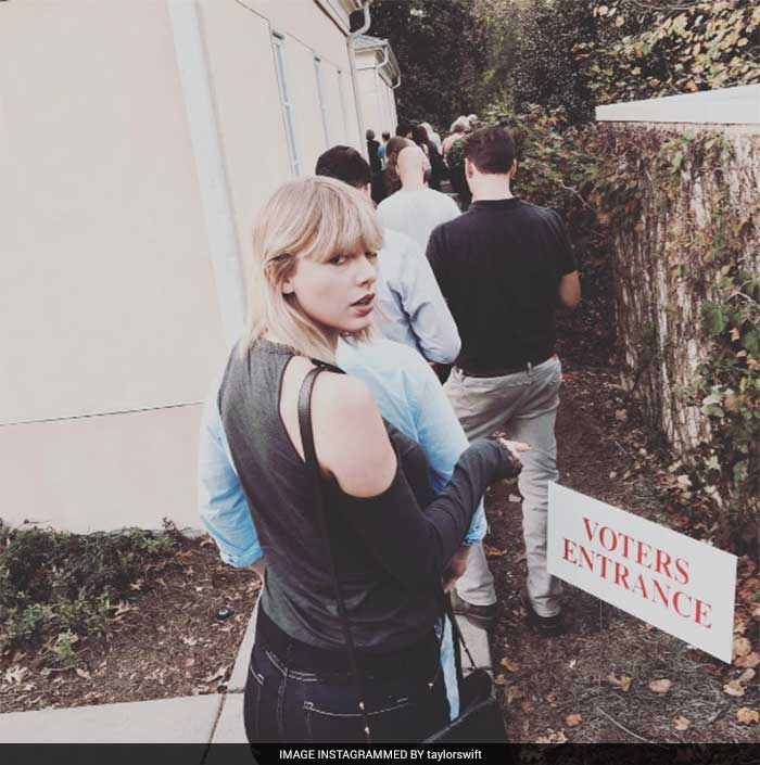 Celebrities Cast Their Votes On US Election Day
