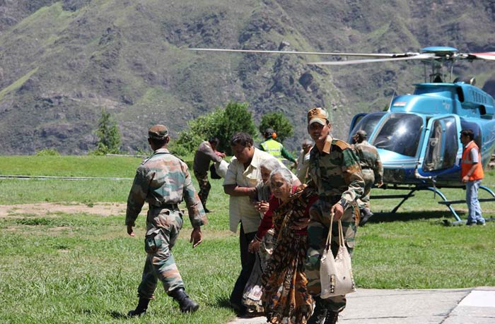 10 dramatic pictures from Uttarakhand today