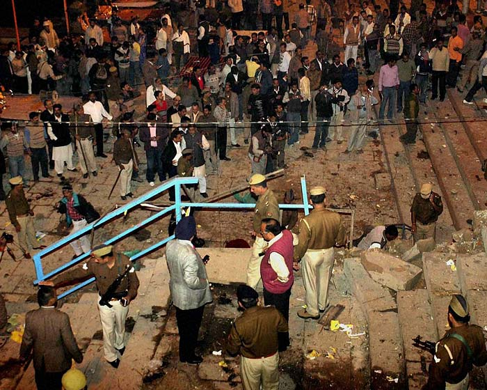 Explosion in Varanasi