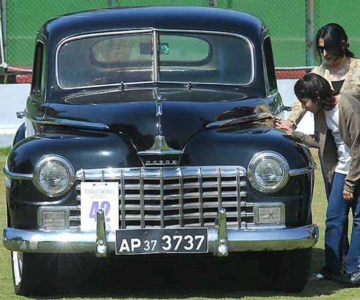 Vintage car fiesta Hyderabad