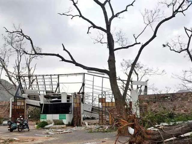 Photo : How Cyclone Hudhud Changed Vizag