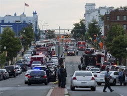 Photo : Shooting at Washington Navy Yard, several killed