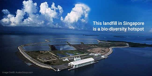 Singapore Landfill: Not Just A 'Rubbish Island\'