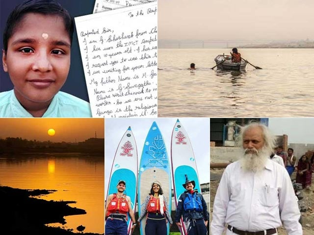 Photo : 5 Swachh Warriors Who Took An Uncommon Route To Talk Of River Pollution