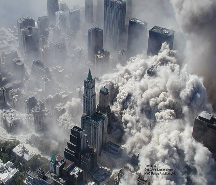 Dramatic new stills of 9/11 attack released, Photo Gallery