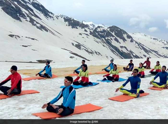 Lakhs Of People Gathered In Different Parts Of World To Celebrate International Day Of Yoga