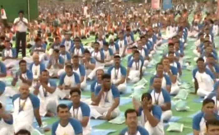 PM Modi Leads Second International Yoga Day Celeberations