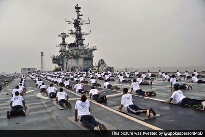 Indian Armed Forces Celebrate Yoga Day
