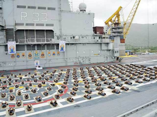 Photo : Indian Armed Forces Celebrate Yoga Day