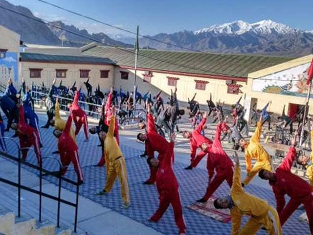 Photo : Ahead of International Yoga Day, Nation-wide Practice Begins
