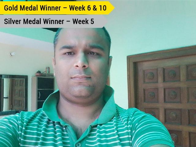 Photo : Work Hard: Neeraj Bhatia's Fitness Mantra