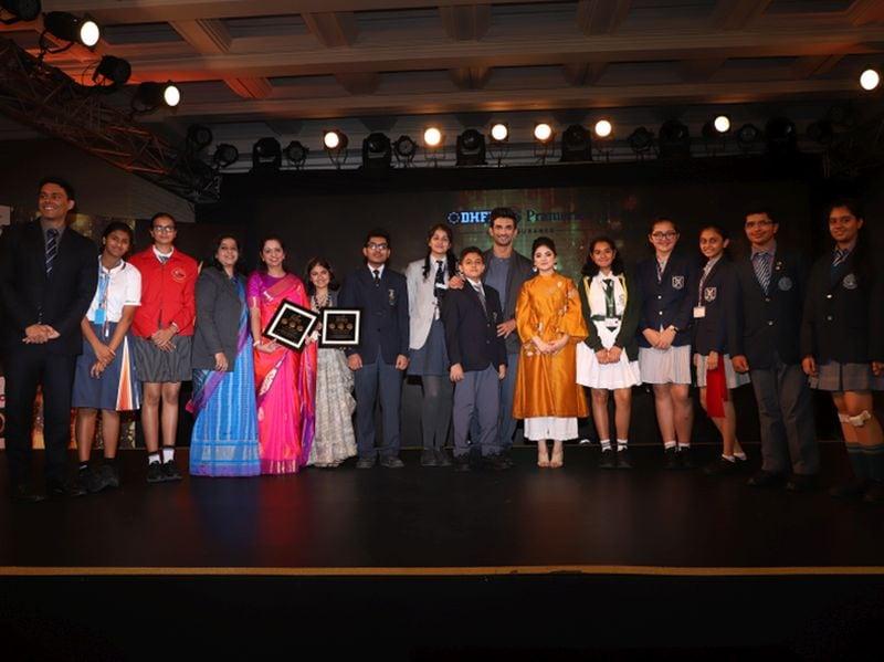 Photo : Behtar India Awards: Sushant Singh Rajput Addressed Felicitation Ceremony