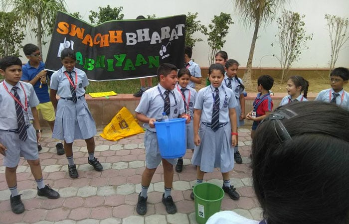 In Pics: Students Participating In Cleaning Activities To