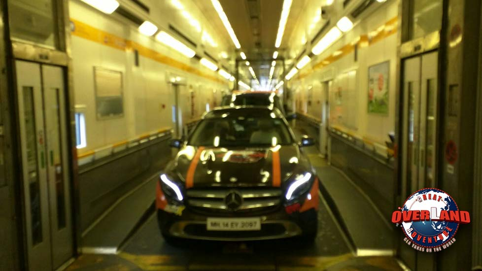 GLAadventure's Euro Tunnel Journey Across the English Channel