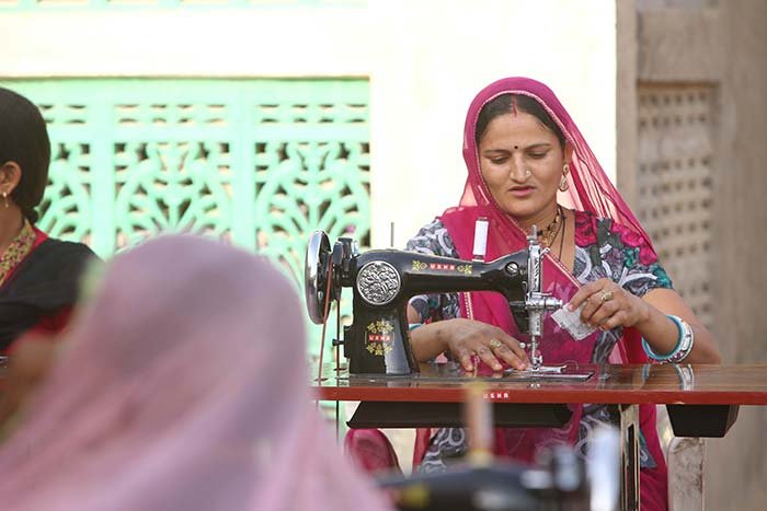 With Stitching As Her Means, Rajasthan's Gomi Devi Becomes The Sole Bread Earner In Her House