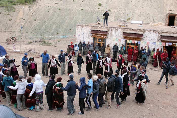Celebrations Ensue After Lighting Up Phugtal Monastery