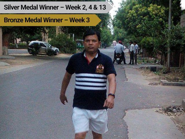 Photo : Bhure Singh: Exercise Makes Me Happy!