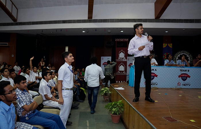 NSSQ 2016: Students Participating In The Delhi Zonal Final Round