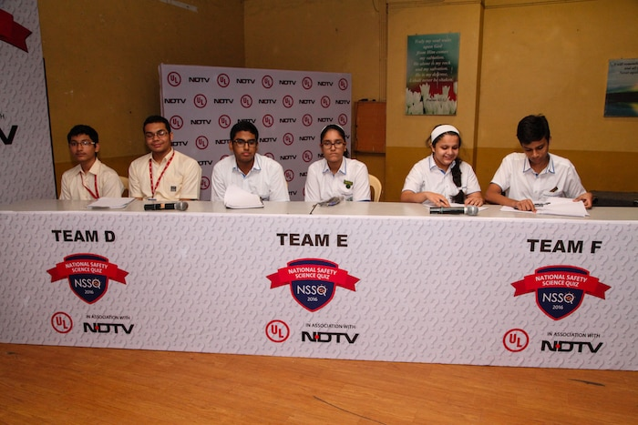 NSSQ 2016: Students Participating In The Zonal Round Held In Mumbai